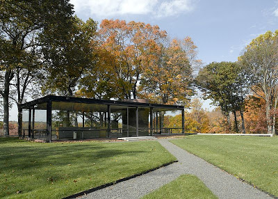 Philip Johnson's Glass House ~ New Canaan, Connecticut