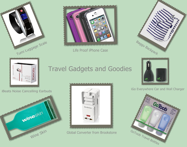Travel Gadgets and Goodies