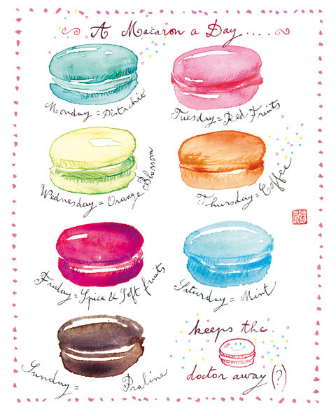 """A """"Sweet"""" Macaron Inspired Giveaway!"""