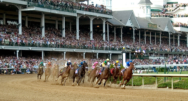 Derby Day + Thirsty Thursday  = Kentucky Bluegrass Country, Racing and Mint Juleps