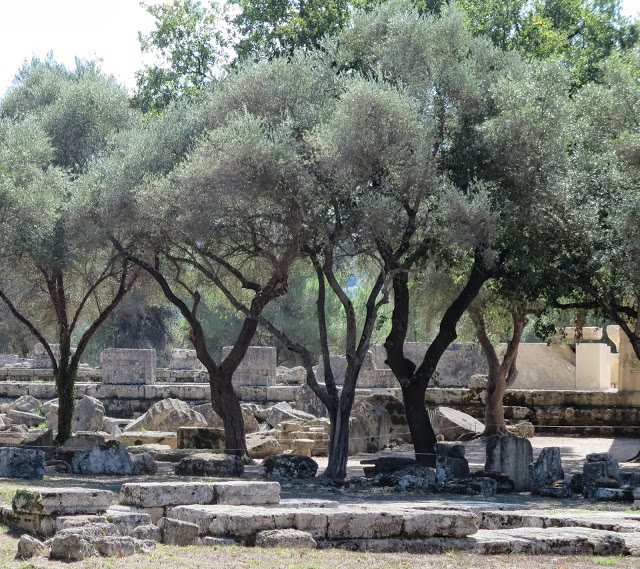 Greek Islands, Part Four ~ Ancient Olympia and Visiting An Olive Farm