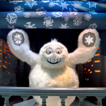 "NYC Holiday Windows ~ Saks Fifth Avenue ""Snowflake Spectacular"""