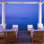 Blue and White, Capri Style at The JK Place