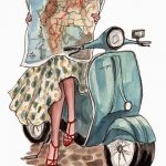 Catching Up and Travel Inspired Art by Inslee Haynes