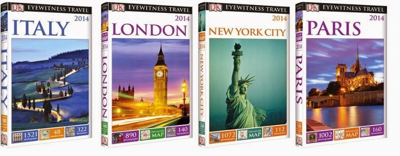 DK Eyewitness Travel Guide Giveaway!