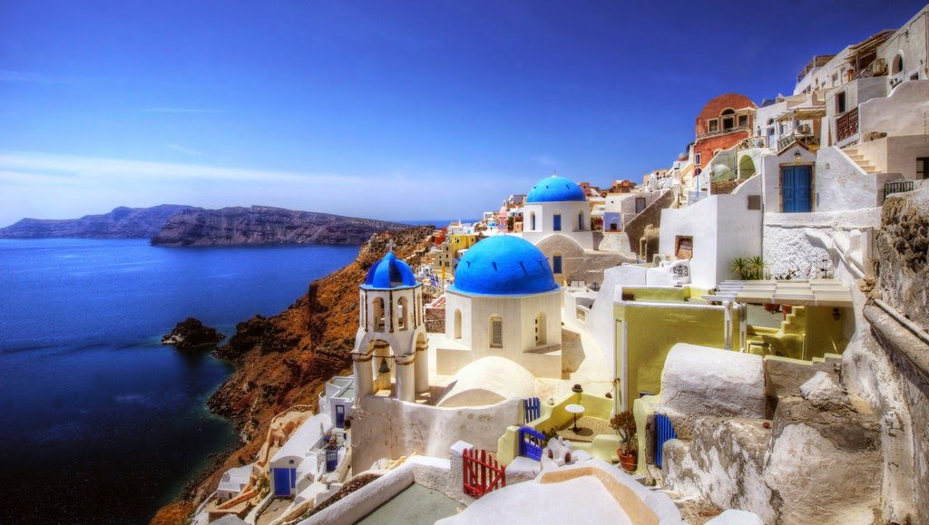 The Greek Isles are always popular - I had clients in Mykonos, Santorini and Crete.