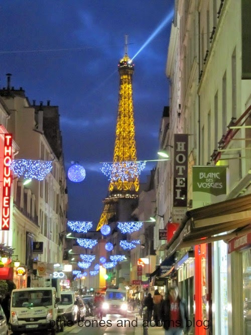 Christmas in Paris…Guest Post from Pine Cones and Acorns