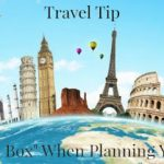 Travel Tip ~ Think Outside The Box for Holiday Travel