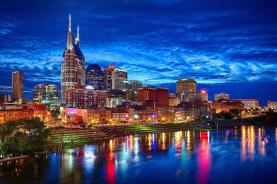 Nashville Skyline by Dan Holland